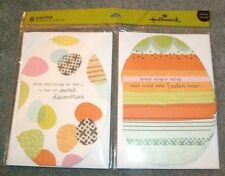 Happy Easter Cards w/envelopes by Hallmark 3 each of 2 designs - New