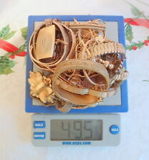 Lot 495 GRAMS Pocket Watch Jewelry 10k 12k 14k Gold Filled Scrap Recovery Gold