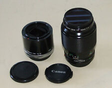 Canon FD 100mm f4 macro - plus Canon extension tube