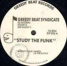 THE GREEDY BEAT SYNDICATE - Study The Funk - Greedy Beat