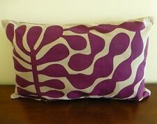 Jolie Plum rectangular cushion cover