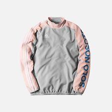 Kith x Adidas Soccer Piste Warm-Up L/S Jacket Flamingos Grey Pink Sz L Large