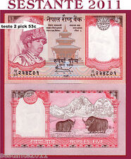 NEPAL - 5 RUPEES ND ( 2005 ) SIGN 16  - P 53c   - FDS / UNC