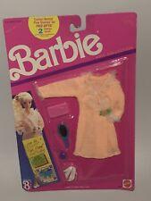 Barbie Fashion Knit Collection Orange Dress Accessories 1989 Mattel 8031 Vintage