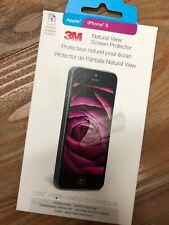 Brand New 3M Natural View Screen Protector Apple iPhone 5 5C 5S Crystal Clear