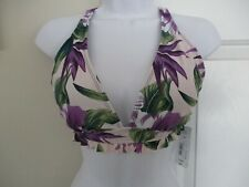 A.N.A Size X-Large Floral Print Bikini Swimsuit Top NWT