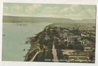 River Front, Looking West, HARRISBURG PA Vintage Pennsylvania Postcard