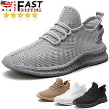 Men's Sports Breathable Running Shoes Outdoor Athletic Fitness Tennis Sneakers