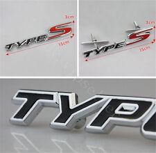 1Pcs Car Black TYPES Alloy Metal Front Car Grill Grilles Emblem Badge Decoration