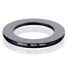 RISE(UK) 62-43  62-43mm  Matel Step Down Ring Filter Camera Adapter 62-43