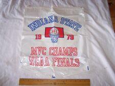 1979 INDIANA STATE UNIVERSITY Basketball 33-1 NCAA Lary Bird Terre Haute ISU Bag