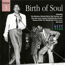 BIRTH OF SOUL VOLUME 3 Various NEW & SEALED NORTHERN RARE SOUL CD (KENT) 60s R&B