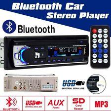 1 Din Car Stereo RADIO USB SD Bluetooth FM Aux-in MP3 Player + Frame 12V