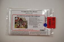 """American Model Builders HO Laser Cut Kit 147 """"The Hillview Fire House"""""""