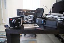 Blackmagic Design Production Camera 4K (EF Mount) Camcorder - with Extras!!