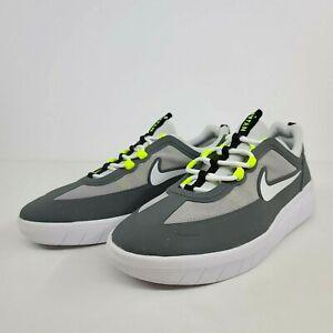 Nike SB Nyjah Free 2 Smoke Grey White BV2078-003 New Men's Shoes No Lid