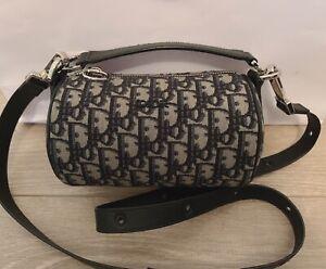 CHRISTIAN DIOR Oblique Trotter Mini roller 2WAY Messenger Bag