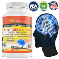 Neuro Brain Boost Memory,  Focus, Clarity, Potent Mood & Cognitive Function