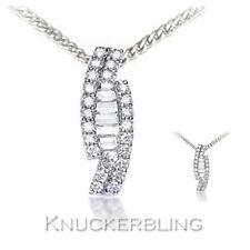 18 Carat Cluster White Gold Fine Necklaces & Pendants
