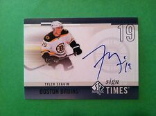 Tyler Seguin 2010 SP Authentic Sign of the TImes ON CARD RC Auto Stars FREE SH