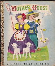 Mother Goose Little Golden Book T-Print Miss Elliott #4