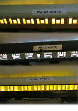 DCC / DC COACH LIGHTING KITS, WARM / COOL / PURE WHITE SUIT HORNBY/BACHMANN ETC