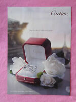 2013 Magazine Advertisement Page Featuring Cartier Rings Engagement Ring Nice Ad