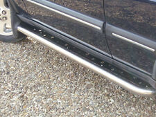LAND ROVER DISCOVERY II STAINLESS STEEL SIDE STEPS PAIR