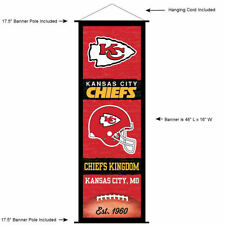 KC Chiefs Room Banner Poster Art Canvas