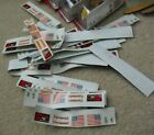 Lot of 50 Vintage Sterling Models RC Airplane Car Decal Sheets