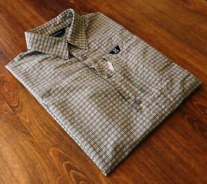 Haglöfs size S Climatic Men's Casual Shirts Short Sleeve Green