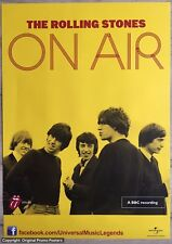 THE ROLLING STONES - PROMO POSTER - ON AIR - yellow vinyl lp / cd / book