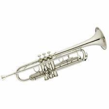 Cecilio Mendini MTT-N Nickel Plated Bb Trumpet (MTT-N+SD+PB+92D)