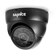 SANNCE 1x 900tvl Indoor Outdoor IR Night Vision CCTV Home Security Dome Camera
