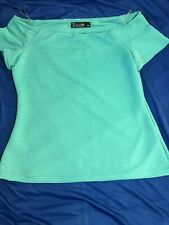 Ladies Off The Shoulder New York And Co Top Size L