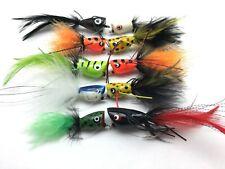 Fly Fishing Saltwater DECEIVER 8 Pack Size 2//0-3//0 Lures multi dark #DEC2