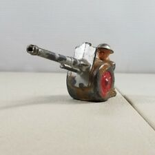 1940'S Barclay Manoil Soldier Lead Soldier Canon 17. 41B