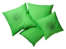 Kissenhülle Kissenbezug Dekokissenhülle 40x40cm und 50x50cm apfelgrün 2 Dessins