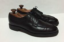 Allen Edmonds Shoes Mens Stockbridge Black Norwegian Split Toe Oxfords (1508)