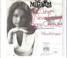 MIRIAM - 100 Jahre
