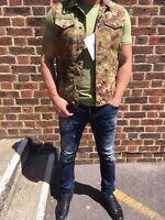 Sale 60% New Authentic Dsquared2  military vest size (46 / 48) 38 UK