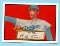 1952 Topps Baseball Reprint # 20 Billy Loes -- Brooklyn Dodgers
