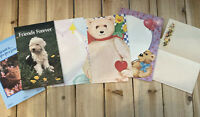 Vintage Stationery Letter Writing Pads And Sheets Lot Of 6 Designs.- Partial