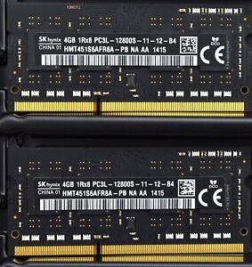 8GB RAM 2x4GB DDR3 SODIMM PC3L-12800 1600MHz OEM Apple Late 2012 Mac Mini A1347