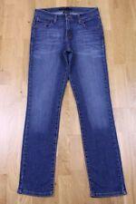 Y35 Vtg Levi Strauss Mid Rise Skinny Women Denim Trousers Jeans Blue W28 L30 6 M