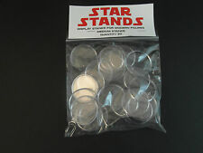 "100 x New 1.5"" Modern Star Wars Figure Display Stands-Wide stance -1995 onwwards"