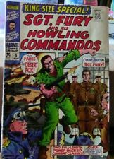 King Size Special: Sgt. Fury and the Howling Commandos Comic Book # 5, June 1969