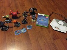 XBOX 360 Disney Infinity Dvd 2.0 HUGE lot of Characters Video Game Toy