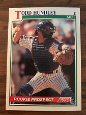 1991 Score Rookie Prospect Todd Hudley New York Mets 340