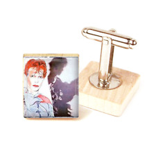 David Bowie Cufflinks Scary Monsters Bowie Handmade Cufflinks Unique Gift